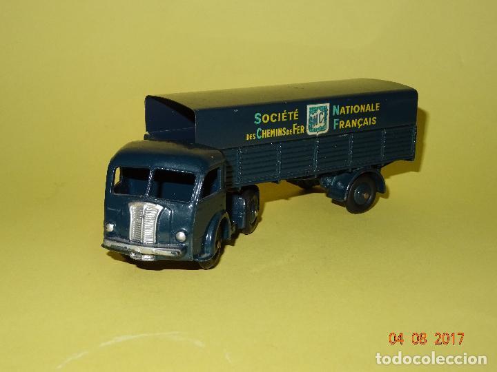 Coches a escala: Antiguo Camión con Toldo PANHARD de SNCF de DINKY TOYS Made in France por MECCANO - Foto 6 - 95048623