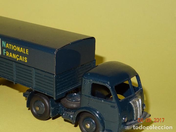 Coches a escala: Antiguo Camión con Toldo PANHARD de SNCF de DINKY TOYS Made in France por MECCANO - Foto 9 - 95048623
