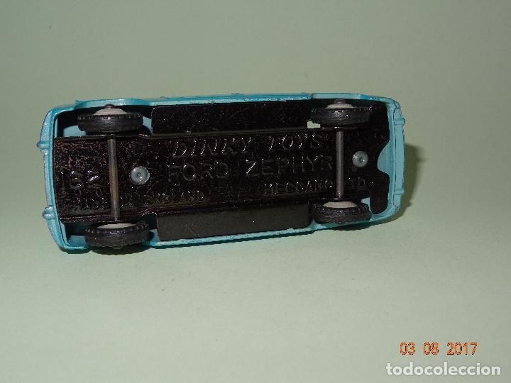 Coches a escala: Antiguo FORD ZEPHYR Ref. 162 de Dinky Toys - Made in England por MECCANO - Foto 2 - 95151603
