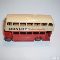 Coches a escala: DINKY TOYS, DOUBLE DECKER BUS, DUNLOP, REF. 290. Lote 95412803