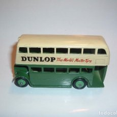 Coches a escala: DINKY TOYS, DOUBLE DECKER BUS, DUNLOP, REF. 290. Lote 95413319