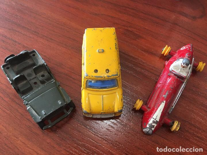 COCHES DINKY TOY: MASERATI,JEEP 80B Y MINI-VAN. (Juguetes - Coches a Escala 1:43 Dinky Toys)