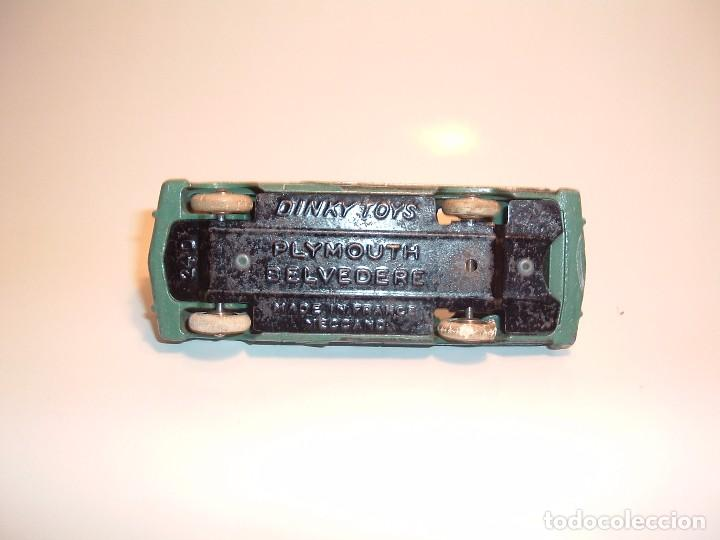 Coches a escala: DINKY TOYS, PLYMOUTH BELVEDERE, REF. 24D - Foto 5 - 98669611