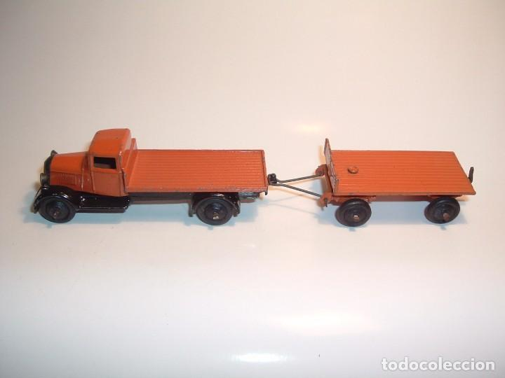 DINKY TOYS, FLAT TRUCK & TRAILER, REF. 25T (Juguetes - Coches a Escala 1:43 Dinky Toys)