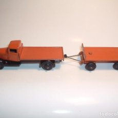 Coches a escala: DINKY TOYS, FLAT TRUCK & TRAILER, REF. 25T. Lote 98676011