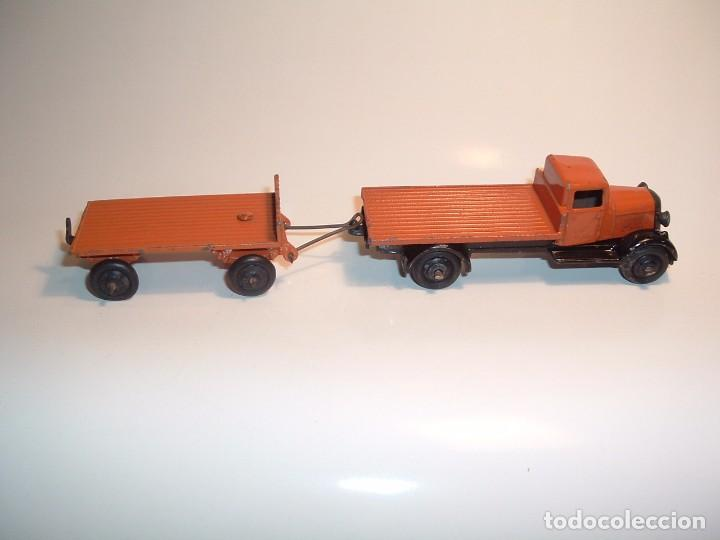 Coches a escala: DINKY TOYS, FLAT TRUCK & TRAILER, REF. 25T - Foto 2 - 98676011