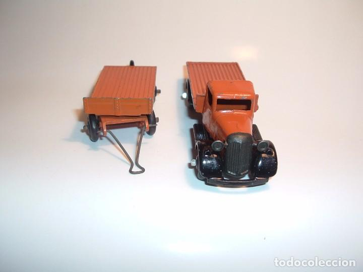 Coches a escala: DINKY TOYS, FLAT TRUCK & TRAILER, REF. 25T - Foto 3 - 98676011