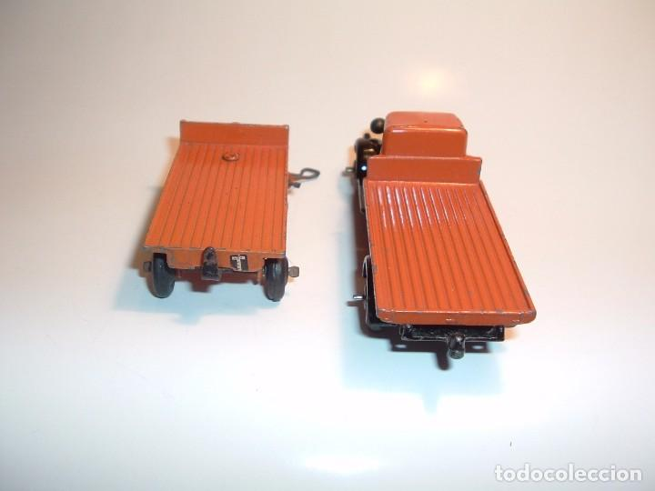 Coches a escala: DINKY TOYS, FLAT TRUCK & TRAILER, REF. 25T - Foto 4 - 98676011