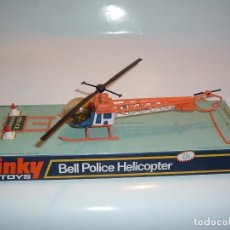 Coches a escala: DINKY TOYS , BELL POLICE HELICOPTER, REF. 732. Lote 98688171