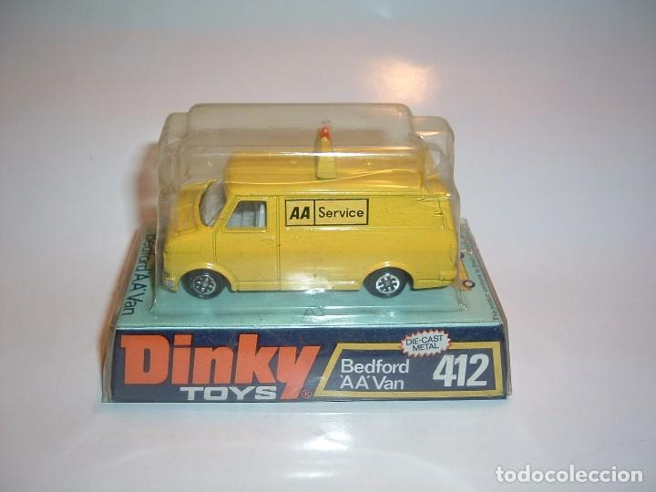 DINKY TOYS, BEDFORD AA VAN, REF. 412 (Juguetes - Coches a Escala 1:43 Dinky Toys)