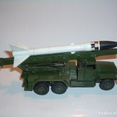 Coches a escala: DINKY TOYS, HONEST JOHN LAUNCHER MISSILE, REF 665. Lote 98746171