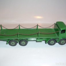 Coches a escala: DINKY TOYS, FODEN FLAT TRUCK WITH CHAINS, REF. 905. Lote 98856043