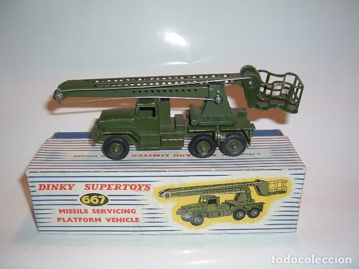 DINKY TOYS, MISSILE SERVICING PLATFORM VEHICLE, REF. 667 (Juguetes - Coches a Escala 1:43 Dinky Toys)