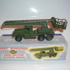 Coches a escala: DINKY TOYS, MISSILE SERVICING PLATFORM VEHICLE, REF. 667. Lote 99224771