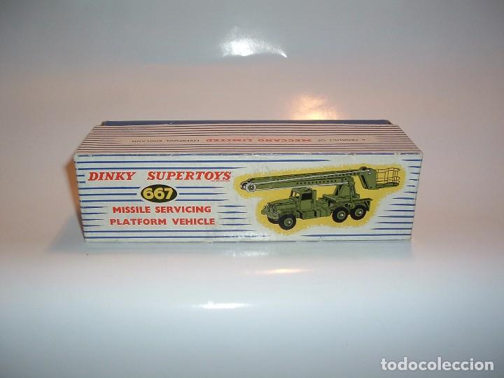 Coches a escala: DINKY TOYS, MISSILE SERVICING PLATFORM VEHICLE, REF. 667 - Foto 7 - 99224771