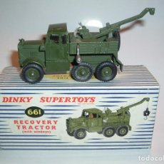 Coches a escala: DINKY TOYS, RECOVERY TRACTOR, REF. 661. Lote 99225051