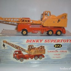 Coches a escala: DINKY TOYS, CAMION GRUA COLES, REF. 972. Lote 99344559