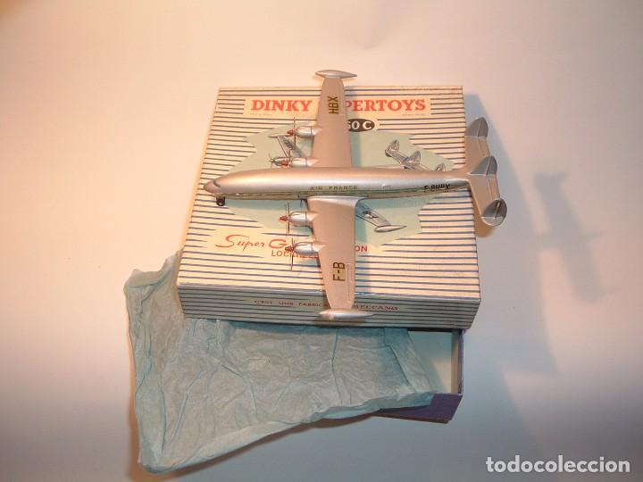 DINKY TOYS, SUPER G CONSTELLATION LOCKHEED, REF. 60C (Juguetes - Coches a Escala 1:43 Dinky Toys)