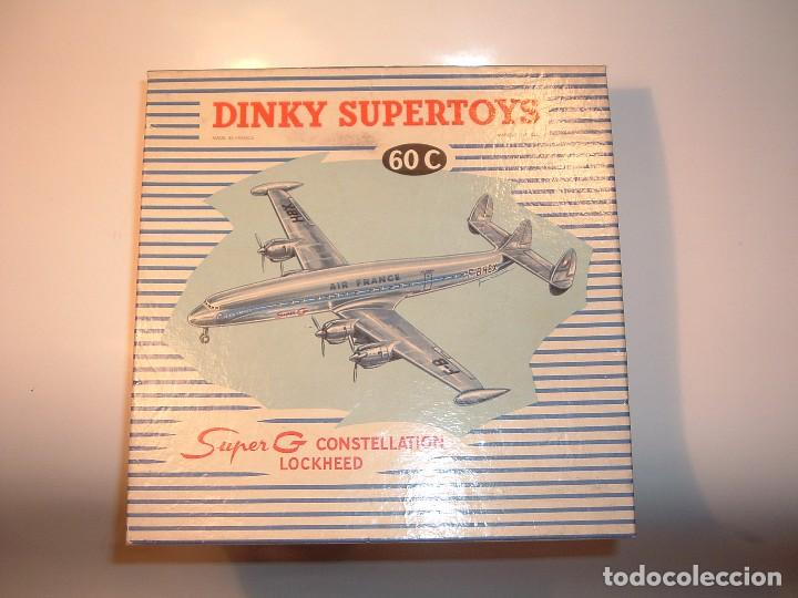 Coches a escala: DINKY TOYS, SUPER G CONSTELLATION LOCKHEED, REF. 60C - Foto 8 - 99440699