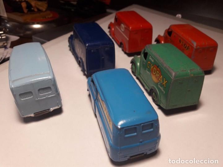 Coches a escala: Coleccion Dinky Toys Furgones Trojan, Morris y Bedford England Meccano 1954/57 - Foto 3 - 101539015