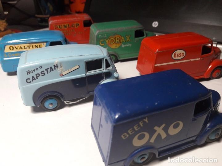 Coches a escala: Coleccion Dinky Toys Furgones Trojan, Morris y Bedford England Meccano 1954/57 - Foto 4 - 101539015
