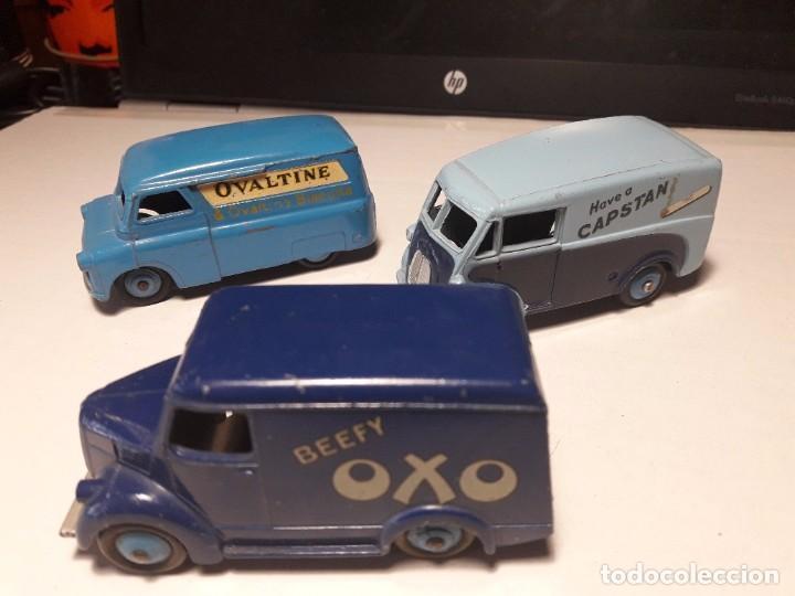 Coches a escala: Coleccion Dinky Toys Furgones Trojan, Morris y Bedford England Meccano 1954/57 - Foto 6 - 101539015