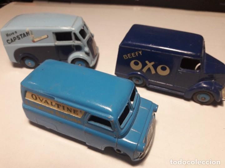 Coches a escala: Coleccion Dinky Toys Furgones Trojan, Morris y Bedford England Meccano 1954/57 - Foto 7 - 101539015