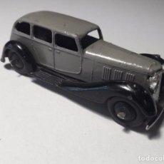 Coches a escala: DINKY TOYS 36A MECCANO ENGLAND ARMSTRONG SIDDELEY AÑO 1937. ORIGINAL. Lote 101539367
