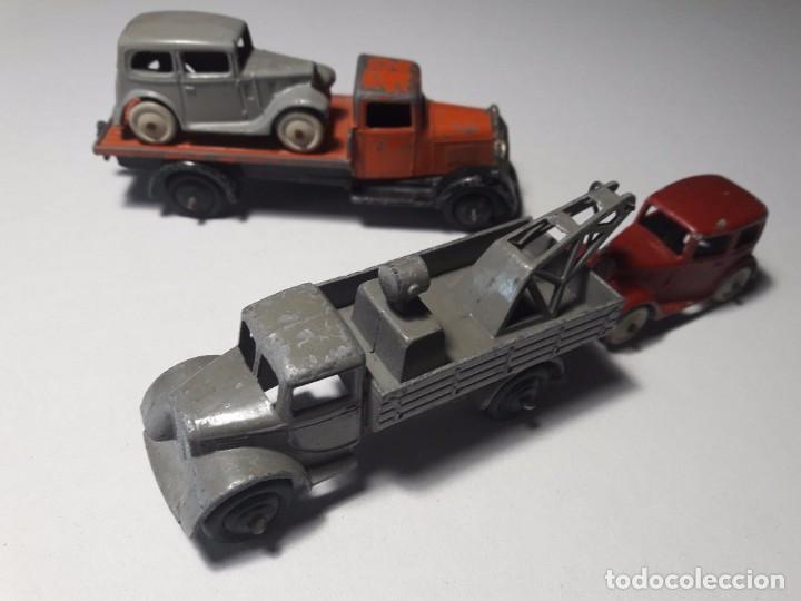 CONJUNTO DINKY TOYS AÑOS 1930'S PRE WAR MUY RARO ENGLAND MECCANO 100% ORIGINAL (Juguetes - Coches a Escala 1:43 Dinky Toys)