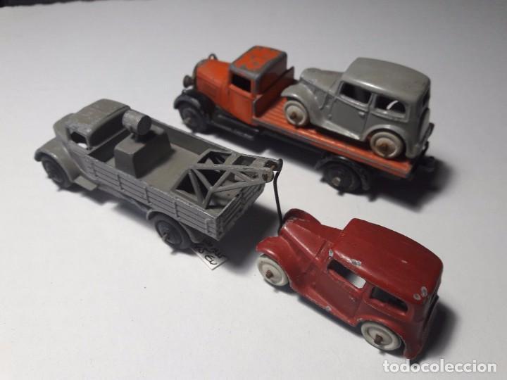 Coches a escala: Conjunto Dinky Toys Años 1930's Pre War Muy raro England Meccano 100% ORIGINAL - Foto 2 - 101542131
