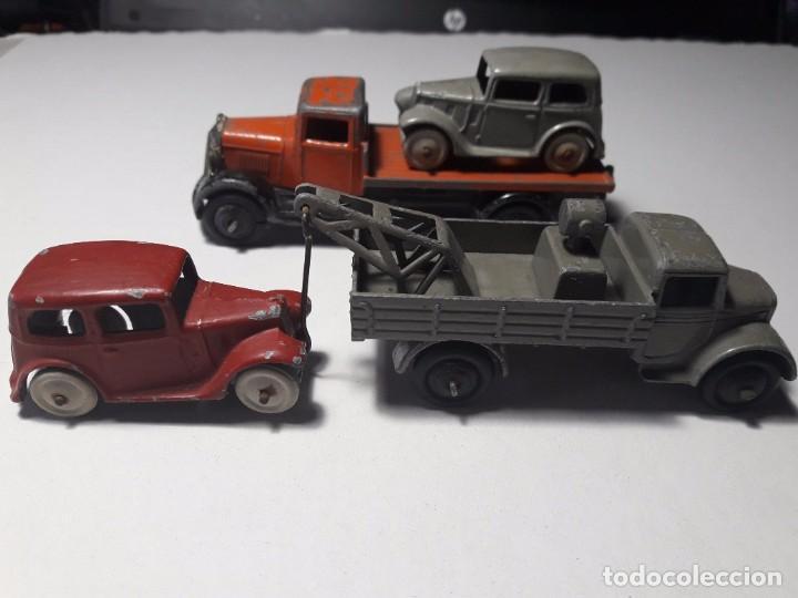 Coches a escala: Conjunto Dinky Toys Años 1930's Pre War Muy raro England Meccano 100% ORIGINAL - Foto 3 - 101542131