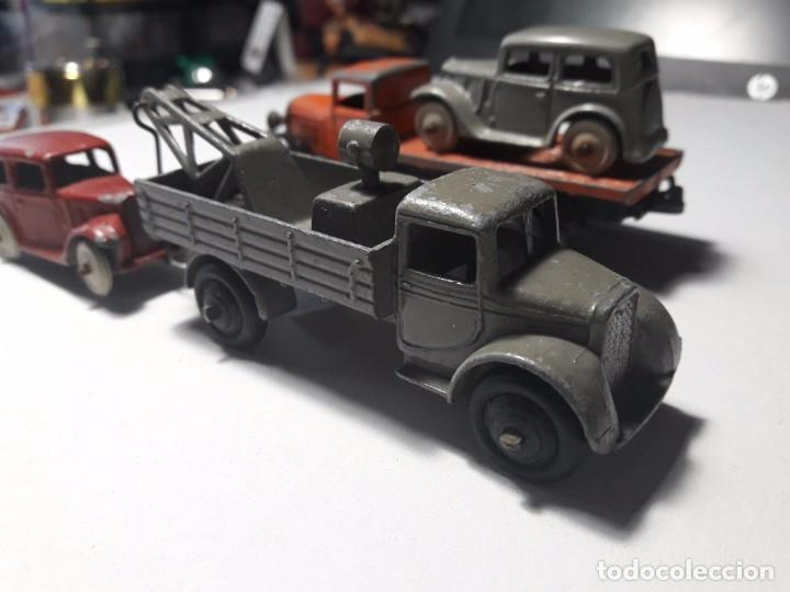 Coches a escala: Conjunto Dinky Toys Años 1930's Pre War Muy raro England Meccano 100% ORIGINAL - Foto 4 - 101542131