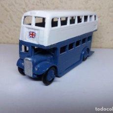 Coches a escala: DINKY TOYS BUS LONDINENSE 1/43 REPINTADO.. Lote 102954383