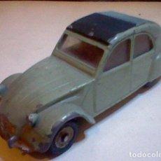 Coches a escala - Citroen 2 CV 558 dinky toys meccano muy raro y buscado esc 1/43 - 103429031