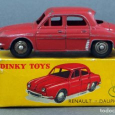 Model Cars - Renault Dauphine Dinky Toys Meccano 1/43 Made in France con caja - 107009215