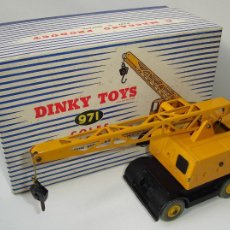 Coches a escala: ANTIGUA GRUA COLES MOBILE CRANE DINKY SUPERTOYS CON CAJA ORIGINAL. Lote 104683571