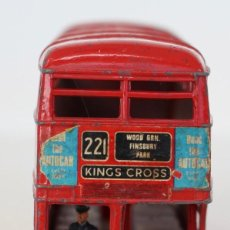 Coches a escala: DINKY TOYS 289 BUS INGLES ROUTEMASTER. ANTIGUO AÑOS 70,S.. Lote 107572799