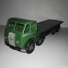 Coches a escala: DINKY TOYS -FODEN 502 FLAT TRUCK 1ST TYPE GREEN/DINKY SUPER TOYS CAMIÓN VERDE. Lote 108351026
