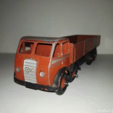 Coches a escala: DINKY TOYS -FODEN 501 FLAT TRUCK 1ST TYPE BROWN/DINKY SUPER VERY RARE. Lote 108351395