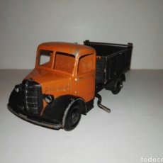 Coches a escala: DINKY TOYS, 411 BEDFORD ARTICULATED , ORANGE CAB 1948. Lote 109482164