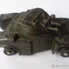 Coches a escala: VEHICULO MILITAR DE DINKY TOYS, MOD PANHARD, MADE IN FRANCE. Lote 112719339