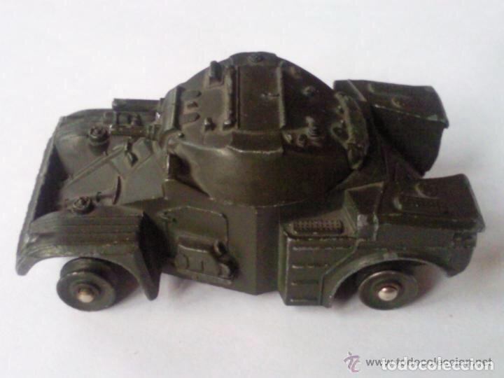 Coches a escala: VEHICULO MILITAR DE DINKY TOYS, MOD PANHARD, MADE IN FRANCE - Foto 4 - 112719339