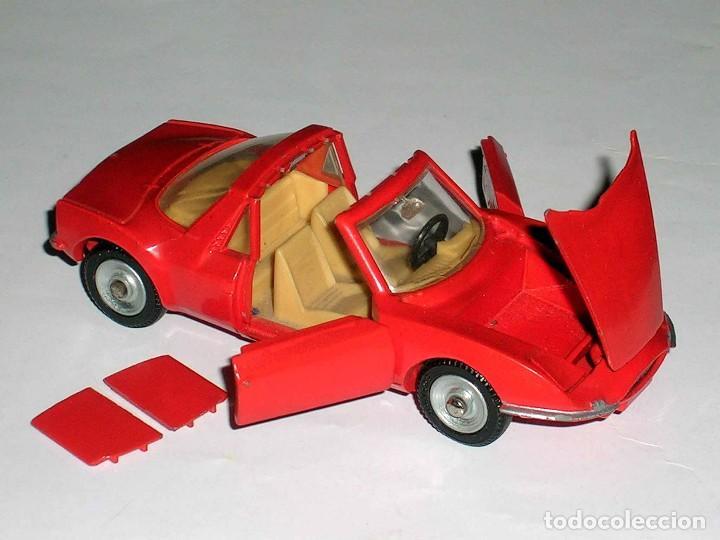 Coches a escala: Matra Sports M-530 ref. 1403, metal, esc. 1/43, Dinky Toys France, original año 1967. - Foto 2 - 118238503