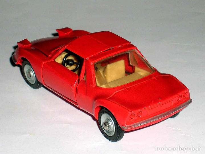 Coches a escala: Matra Sports M-530 ref. 1403, metal, esc. 1/43, Dinky Toys France, original año 1967. - Foto 4 - 118238503