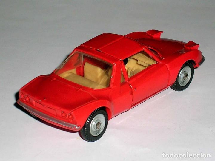 Coches a escala: Matra Sports M-530 ref. 1403, metal, esc. 1/43, Dinky Toys France, original año 1967. - Foto 5 - 118238503