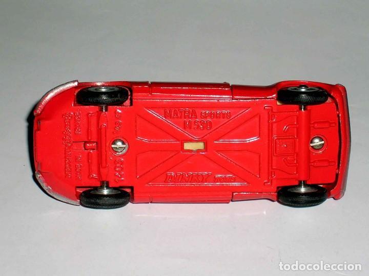 Coches a escala: Matra Sports M-530 ref. 1403, metal, esc. 1/43, Dinky Toys France, original año 1967. - Foto 7 - 118238503