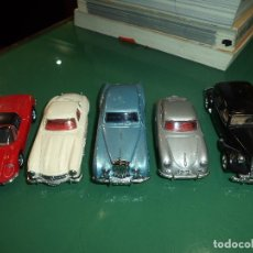 Coches a escala: 5 COCHES DINKY MADE IN CHINA. Lote 119465375