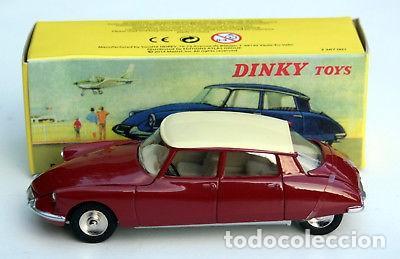CITROEN DS 19 DINKY METAL NUEVO EN CAJA PRECINTADO ABRE CAPO MALETERO.. (Juguetes - Coches a Escala 1:43 Dinky Toys)