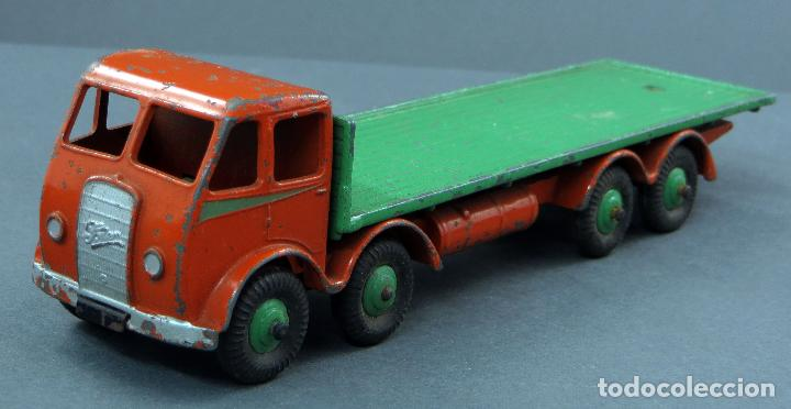Coches a escala: Camión Foden Flat Truck Dinky Supertoys con caja 502 1/43 Made in England - Foto 4 - 120417779