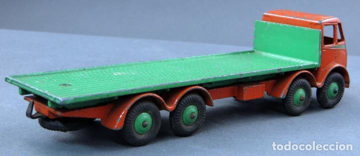 Coches a escala: Camión Foden Flat Truck Dinky Supertoys con caja 502 1/43 Made in England - Foto 6 - 120417779